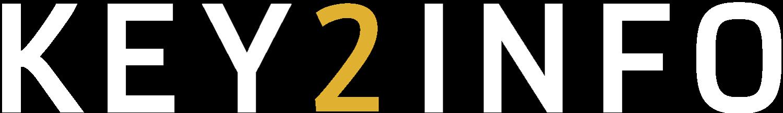 Logo Key2info (in witwaarden)