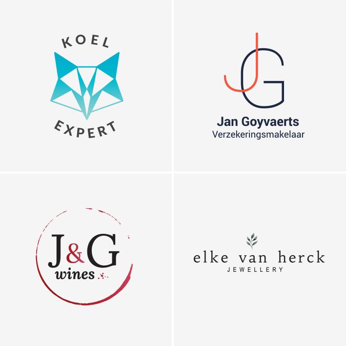 Voorbeelden van logo ontwerpen
