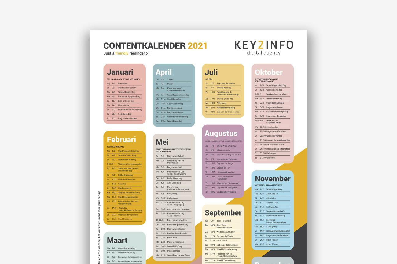Contentkalender 2021