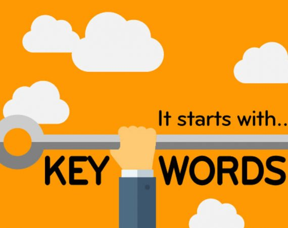 "Illustratie ""It starts with keywords"""